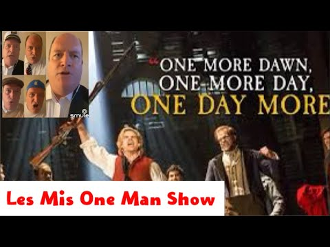 One Day More: Les Mis One Man Show