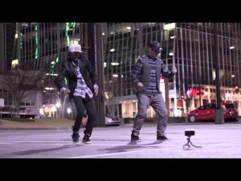 Best Robot Dance Ever Street Performer