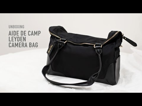 Review & unboxing Aide de Camp Leyden camera bag