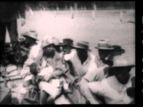 1927 Mississippi River Flood Newsreel Pt 1