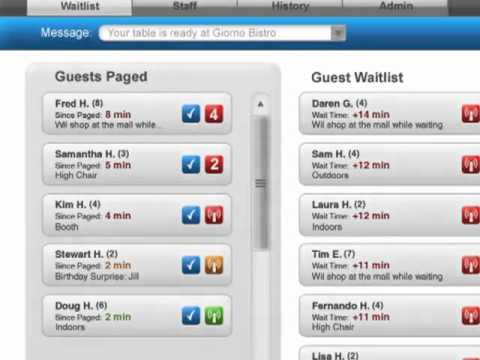 SmartCall SMS Restaurant Guest Paging System from HME Wireless - Alerting  Guests