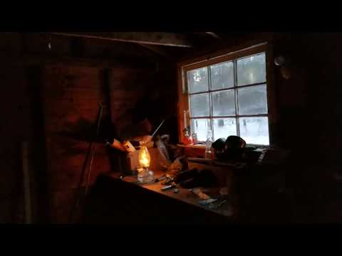 Wood stove test and flooded garage