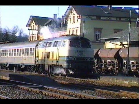 DB 1991 Lahntalbahn / 216 128-9 beige/blau mit ...