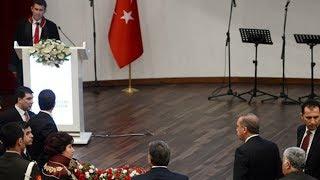 غضب غير مسبوق لـ أروغان بسبب كلمة نقيب المحامين الأتراك