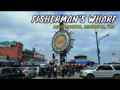 Fisherman's Wharf - Walking Tour - San Francisco CA USA | Travel Vlog