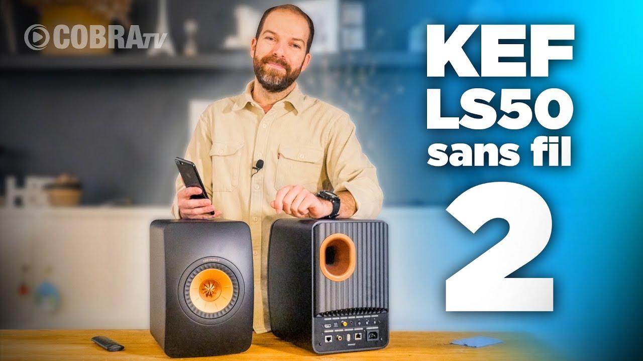 Download Présentation complète et avis sur les nouvelles KEF LS50 sans fil 2, KEF LS50 wireless II   COBRA TV