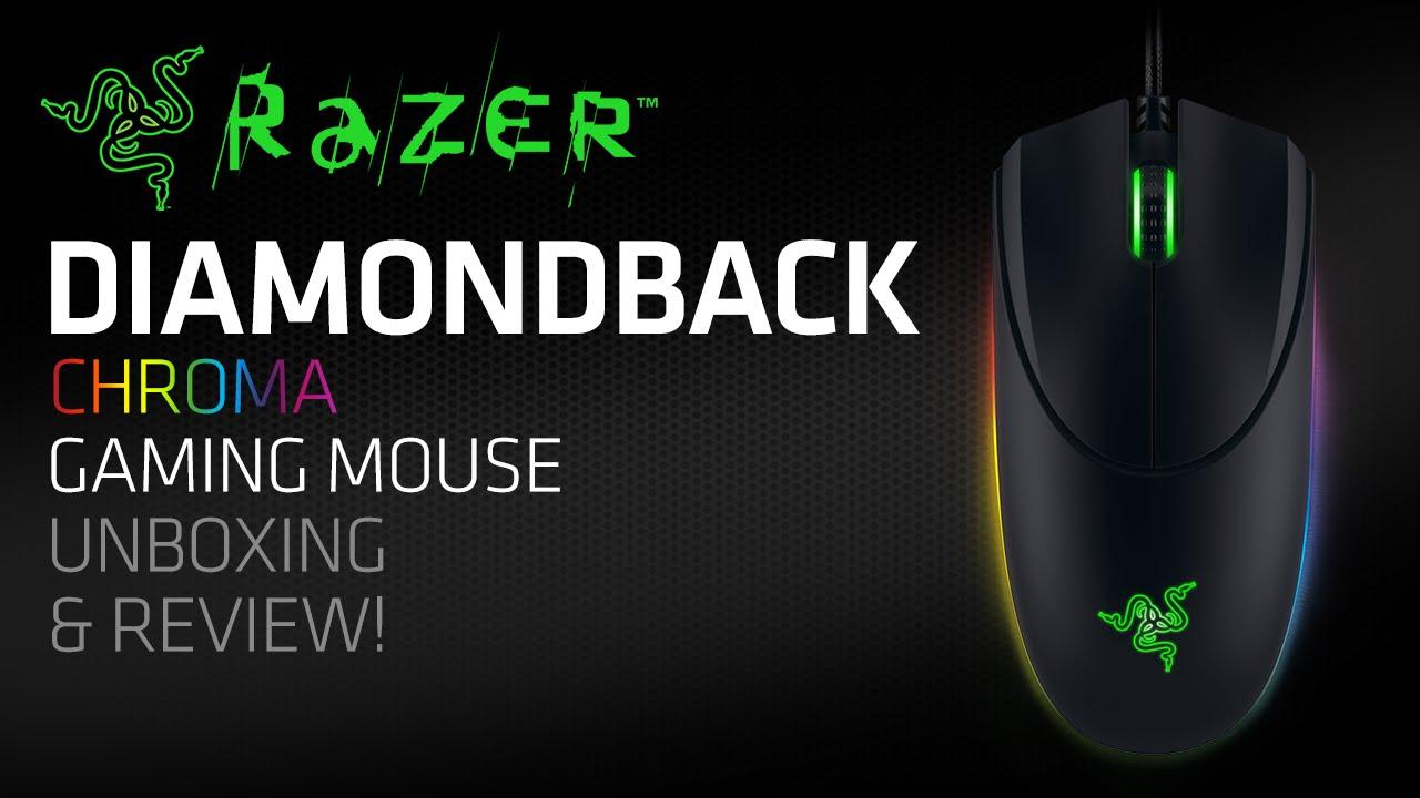 Razer Diamondback Mouse Drivers (2019)