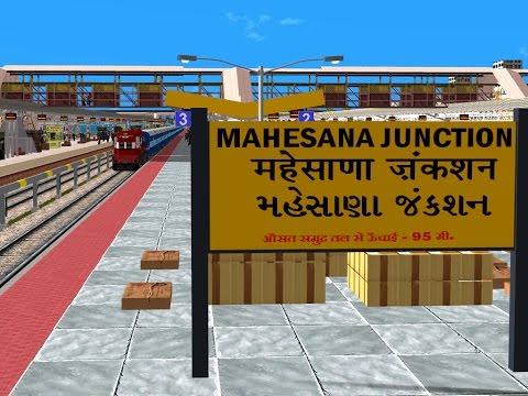 22452/Chandigarh - Mumbai Bandra Bi-weekly SF Express Part 3 || Indian Railways In MSTS Open Rail