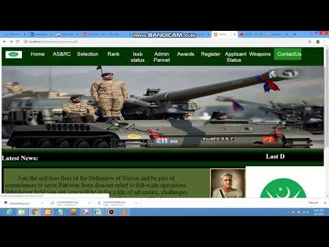 #HowtoCreatePakArmyWebsite | Pakistan Army Complete Web Project#web Html Php Css Javascrip#webprojec