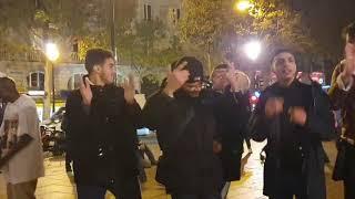 Ambiance Des Algériens à Saint Michel Paris 2019 Raii dz