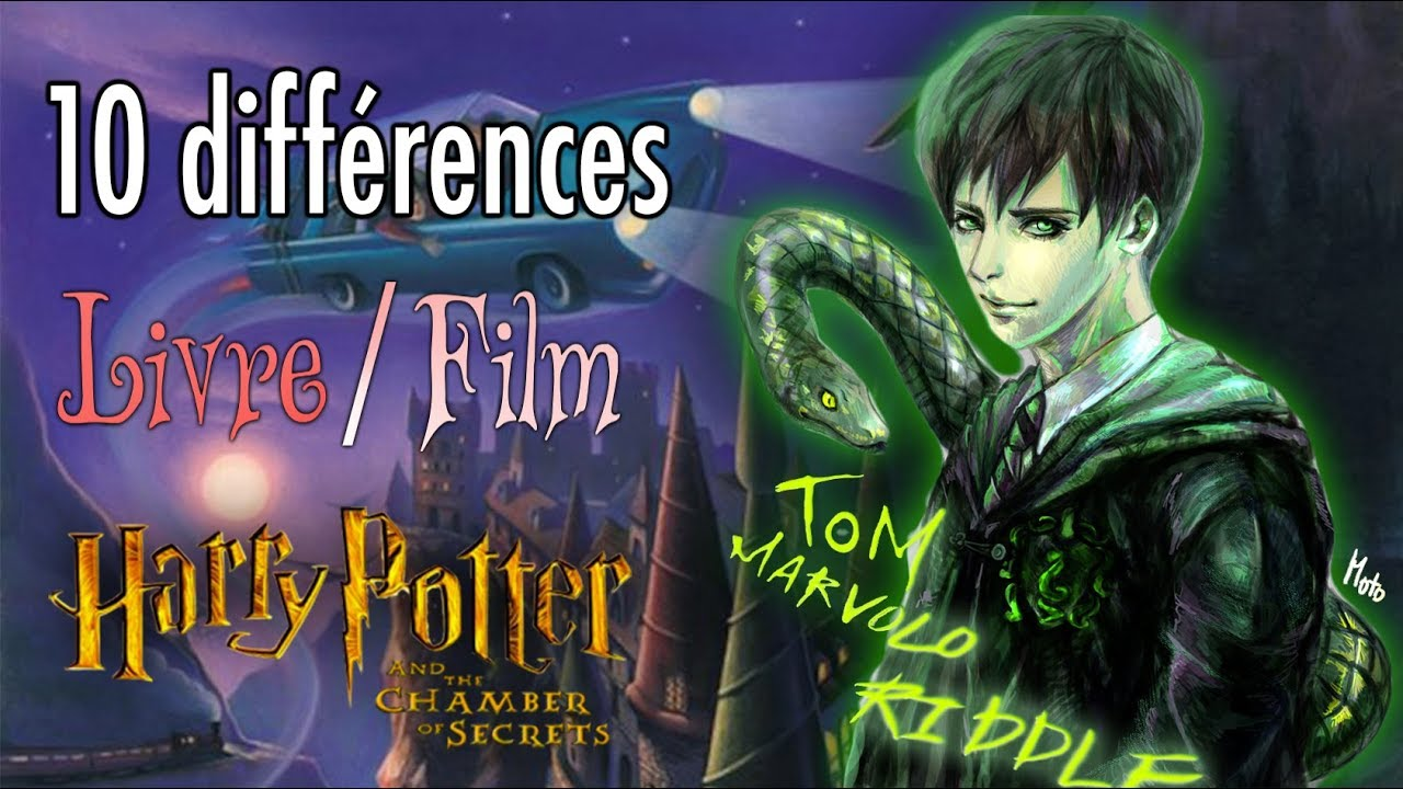 Top 10 Differences Livre Film Harry Potter 2