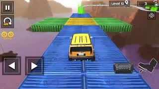 Impossible Stunt Car Tracks 3D New Vehicle Unlocked - Android GamePlay 2018