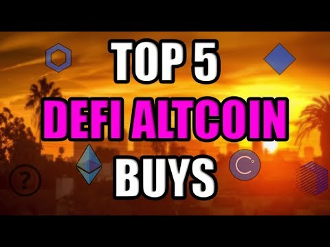 Top 5 Ethereum DEFI Altcoins To Pump In The Next Month! 2