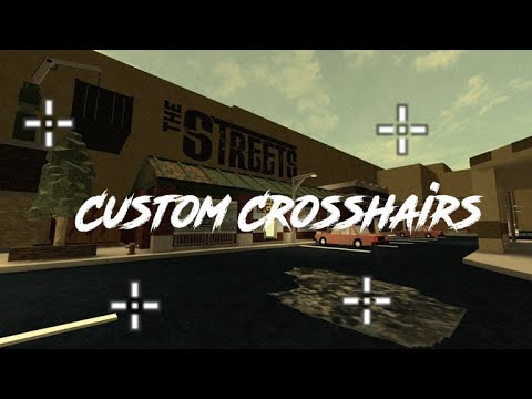 Roblox How To Get Custom Crosshair Youtube