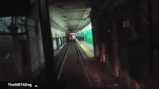 TheMBTADog: MBTA Green Line Central Subway Ride - Boylston & Tremont Street Subways