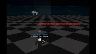 Roblox | Arima vs Ken Kaneki in Ro-Ghoul | Noob
