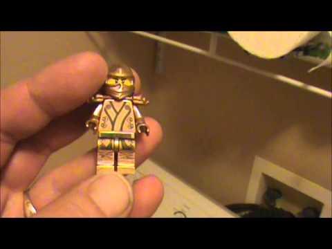 How To Make A Custom Gold Lego Ninjago Golden Kimono Ninja - How to make homemade lego decals
