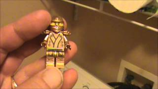 How To Make A Custom Gold Lego Ninjago Golden Kimono Ninja Minifigure w/ Decals