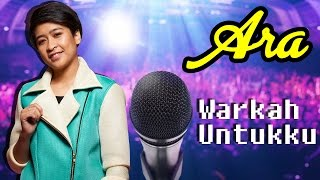 [Lirik Video] Ara AF2016 - Warkah Untukku