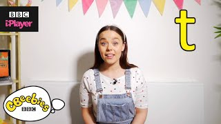 "Learn letter ""t"" with Evie and Dodge 
