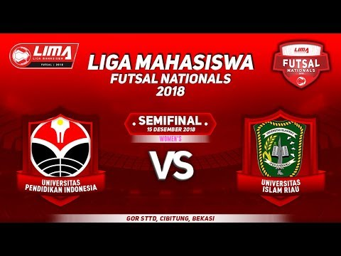 SEMIFINAL UPI VS UIR WOMEN'S LIMA FUTSAL NATIONALS 2018