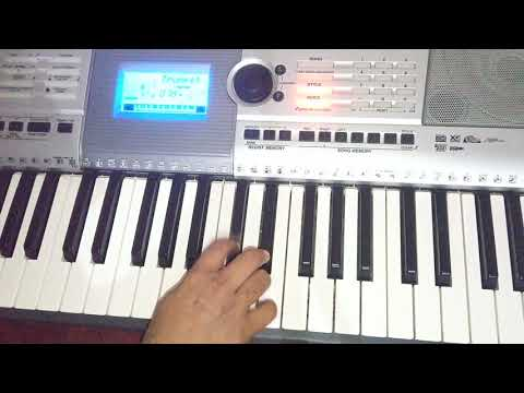 Kalank tite song first class on keyboard
