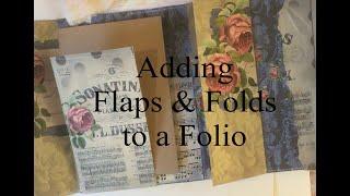 Adding Flaps + Folds to Folios - TUTORIAL