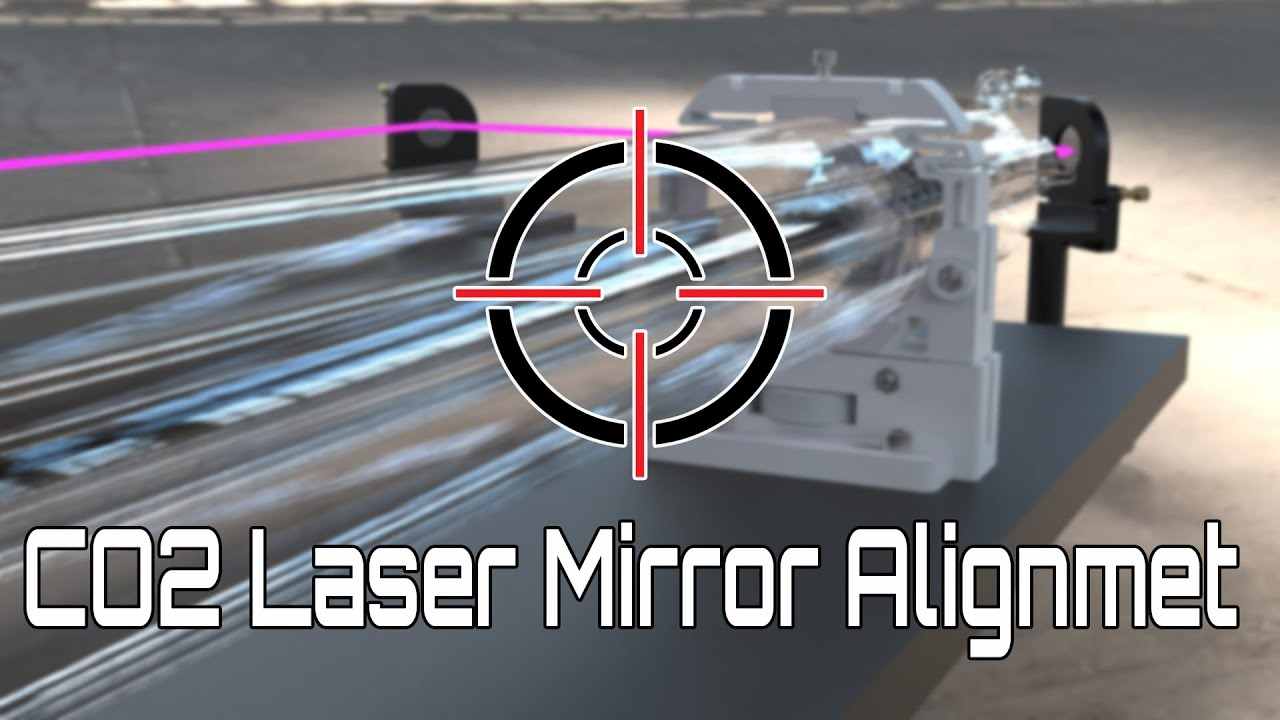 Boss Laser Mirrors Alignment Instructions Youtube