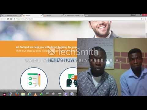 Zarfund Reg. Step By Step guide. Earn Upto 164 Bitcoin in Nigeria Or Any Part Of The World