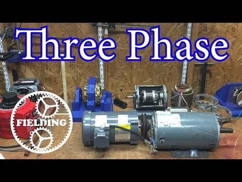 038. How Motors Work for Beginners (Ep 3); Three Phase Induction Motors