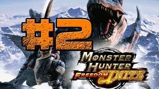 Monster Hunter Freedom Unite | Episode 2 | The Carnivorous Leader | The King Giadrome!