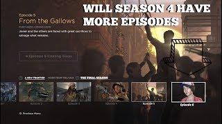 Will The Walking Dead:Season 4 Have More Episodes! - Twd Season 4 (Telltale)