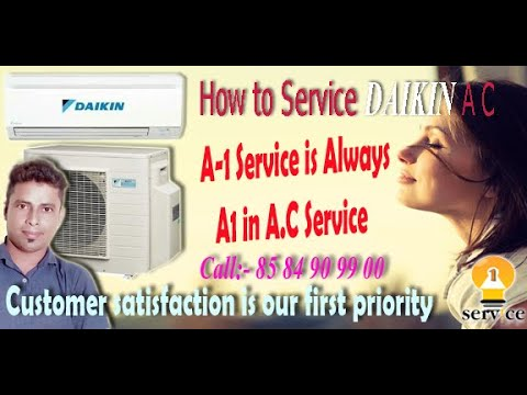 How to clean air conditioner outside unit at home / step by step