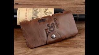Мужское кожаное портмоне Bailini Genuine Leather(, 2017-09-02T15:04:33.000Z)