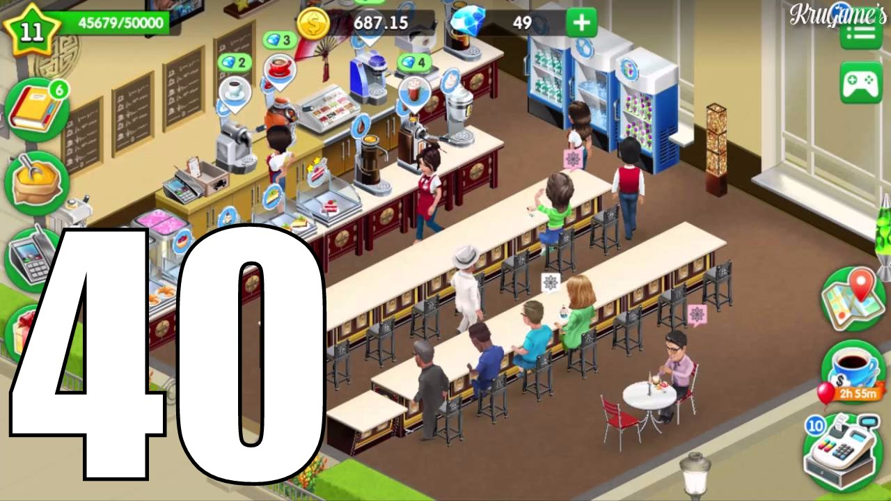 My Cafe: Recipes & Stories Android Gameplay #40 - Level 11 by KruGames