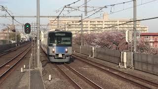 西武20000系20151F中村橋駅到着