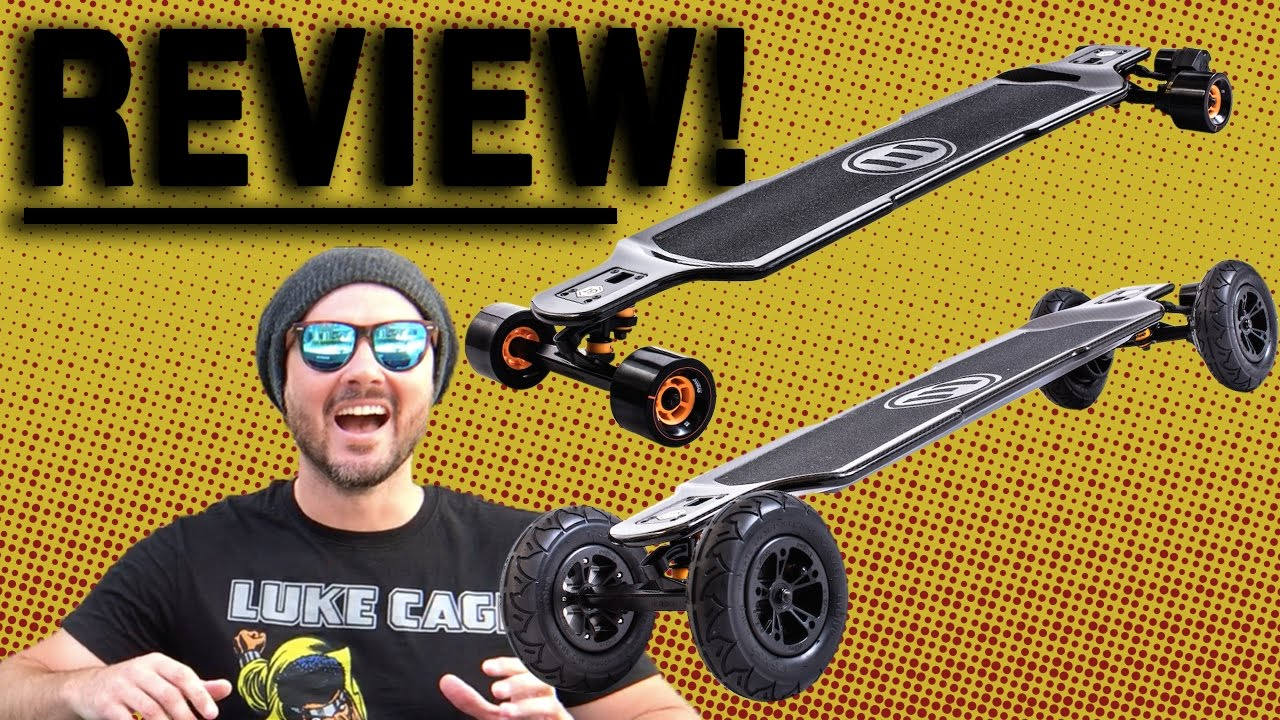 Evolve Carbon Gt 2 In 1 Electric Skateboard Unboxing First Ride Review I Almost D You