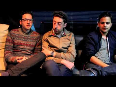 Passion Pit Interview at Reading Festival 2012 - Roland