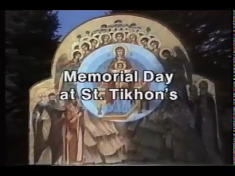 Divine Liturgy on Memorial Day at St. Tikhon's