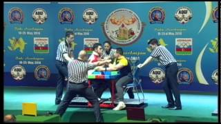 DISABLED MEN RIGHT 90KG   AYDIN, OMER TURKEY 3505 vs ARTEM, PYSMAK UKRAINE 3329