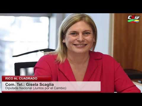 Gisela Scaglia: Buscan perjudicar a nuestros jubilados