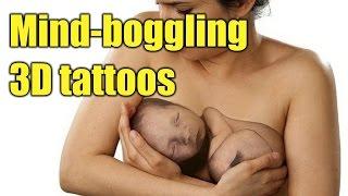 Mind-boggling 3D tattoos.BEST TATTOOS | TATTOO WORLD