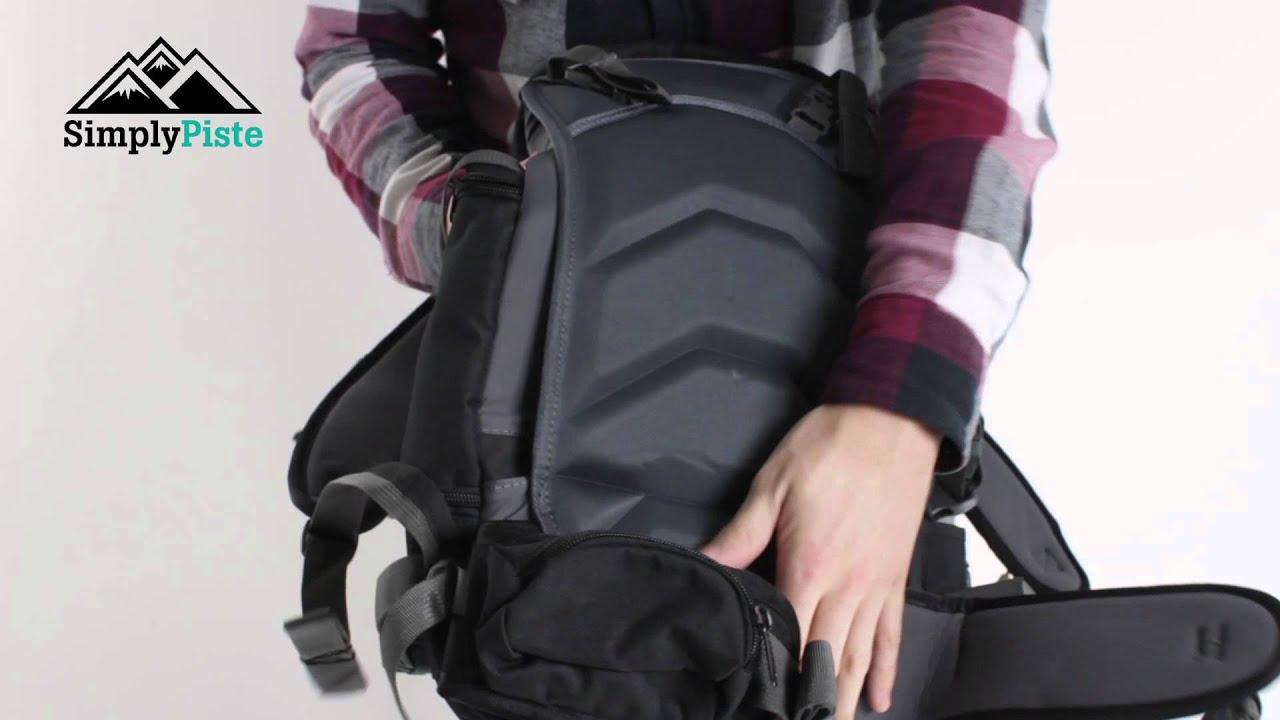 Dakine Heli Pro DLX 20L Black - www.simplypiste.com - YouTube