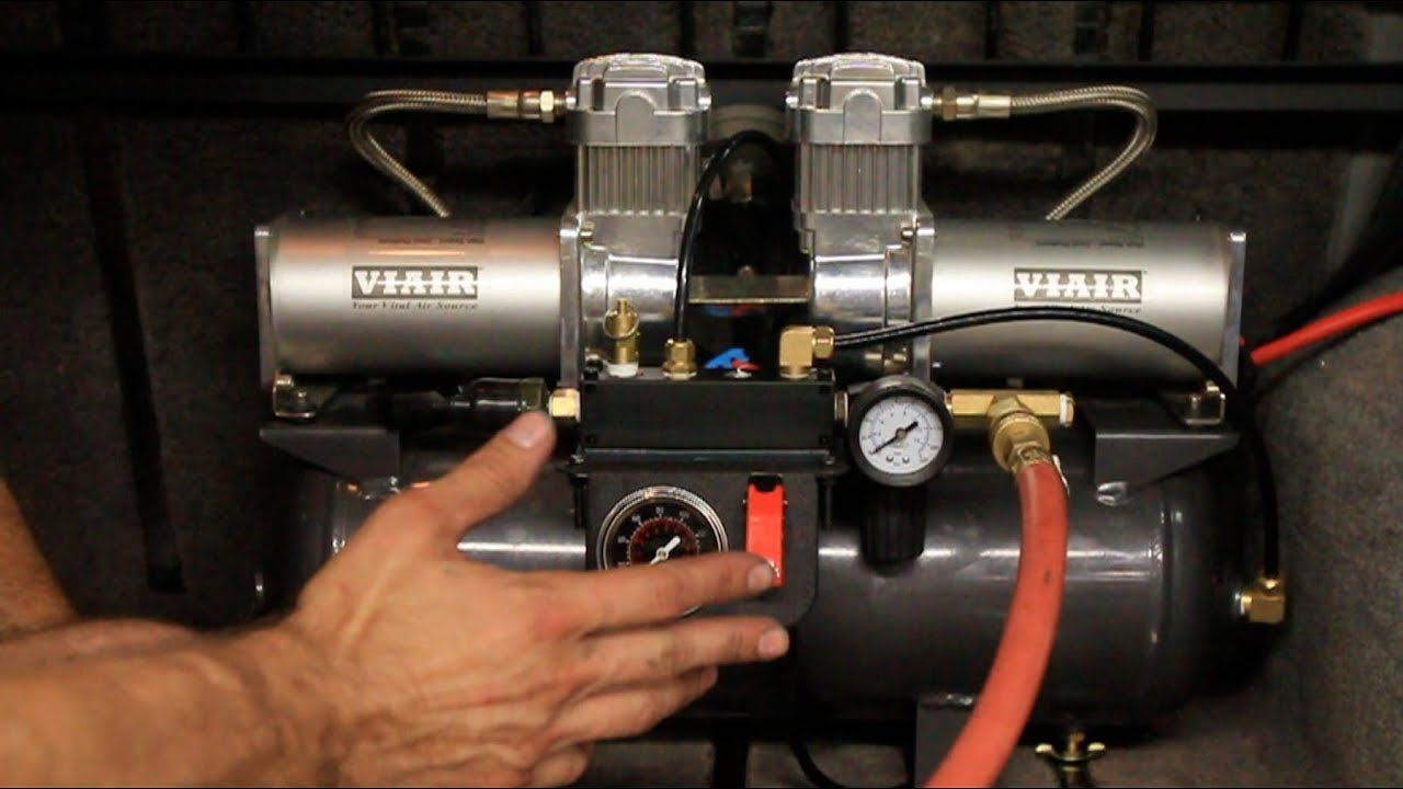 Viair Compressor Wiring Diagram Kia Rio 2003 Radio Onboard Air How To Install A System Youtube