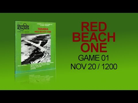 Red Beach One - GAME 01 - Nov20 1200