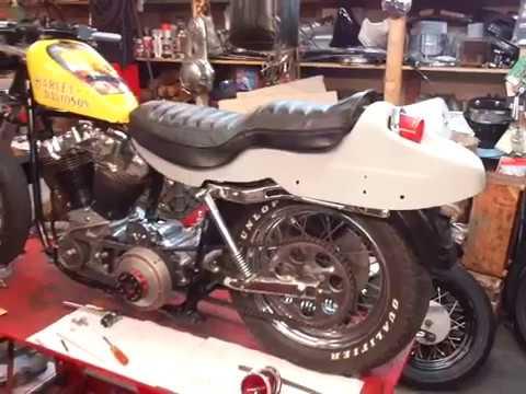 Harley Ironhead to Shovelhead Swap