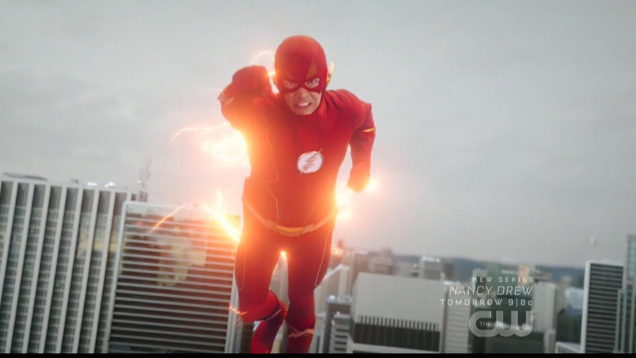 Download The Flash 6x01 Barry closes the Black Hole in Central City (+New Suit)