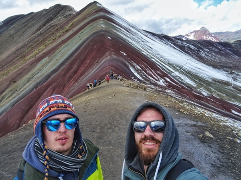 CRAZY GREEKS BACKPACKING IN PERU part2