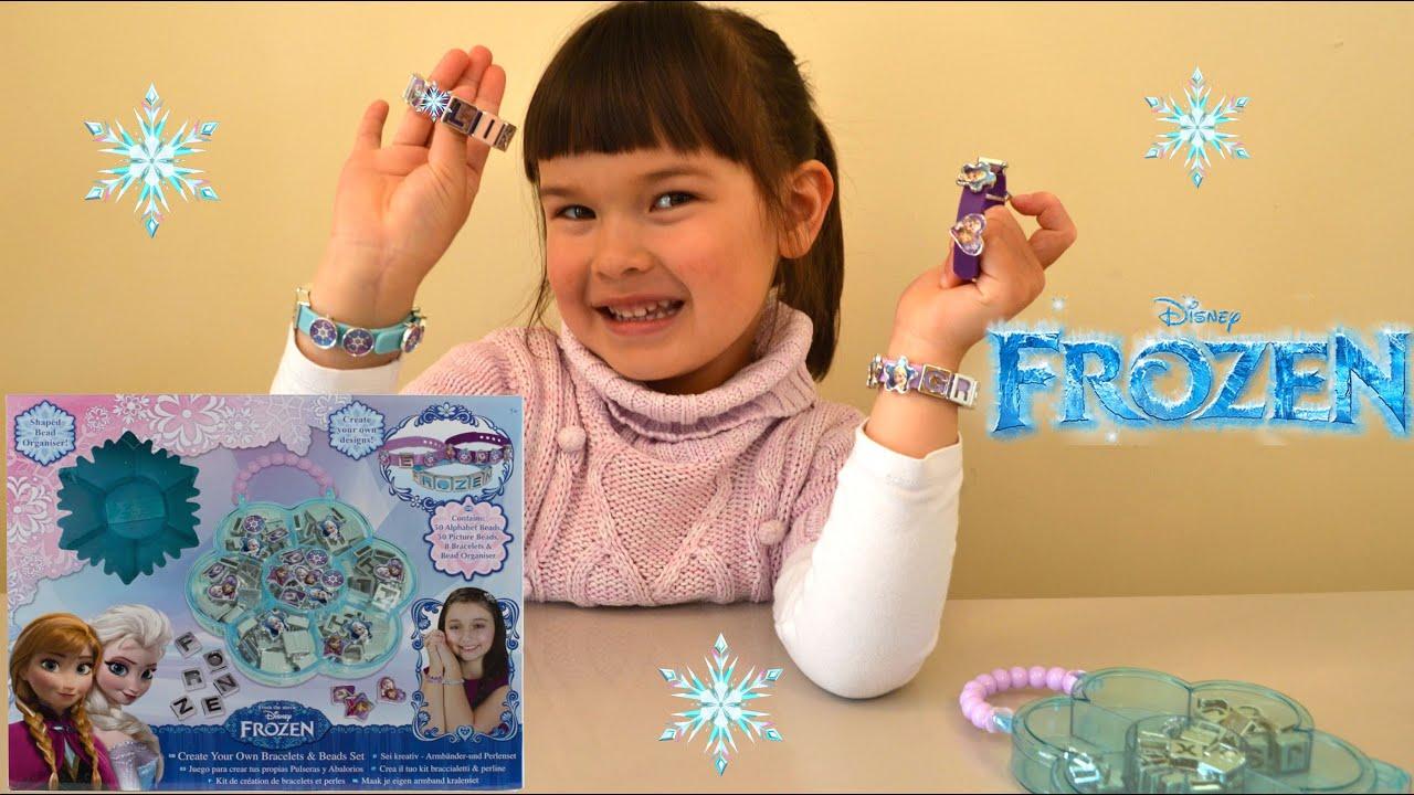 Znalezione obrazy dla zapytania Frozen Create Your Own Bracelets and Bead Set