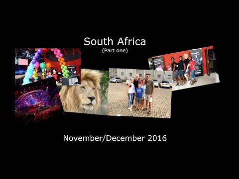 South Africa (Part One/Joburg) - Internship DWR - November/December 2016 -- TrebbienTravels